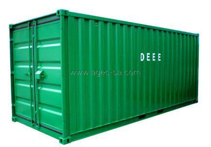 Conteneur de stockage pour DEEE et réemploi
