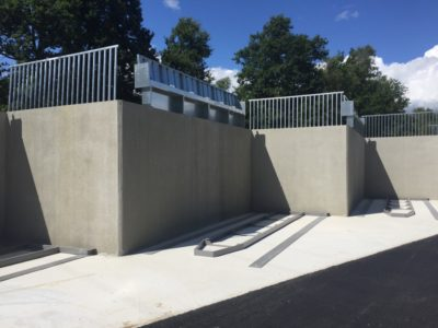 Protection des murs de quais