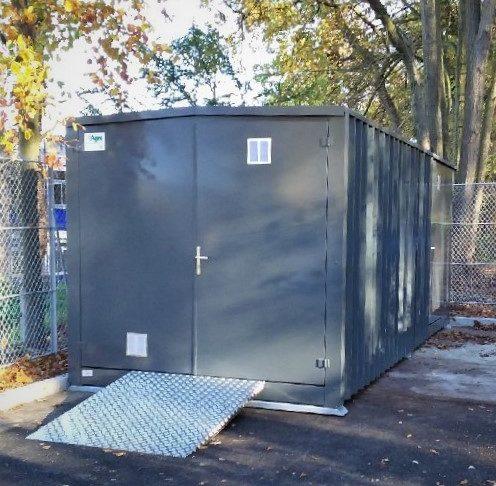 Container s/retention